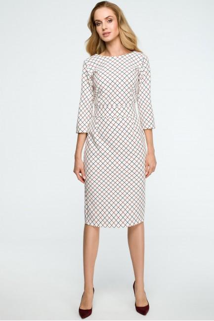 CM3836 Ołówkowa sukienka z...