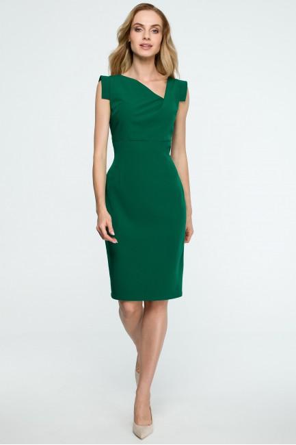 CM3839 Dopasowana sukienka...
