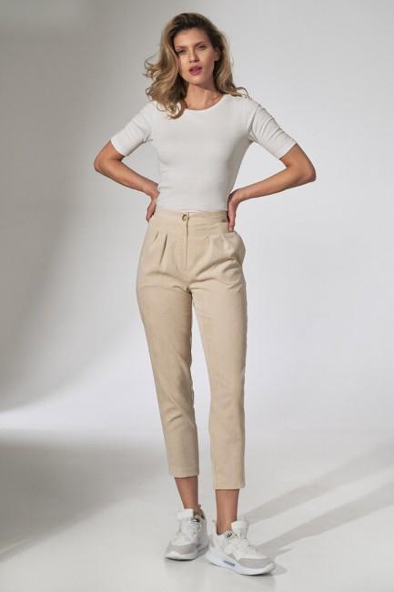 CM5810 Spodnie sztruksowe z...