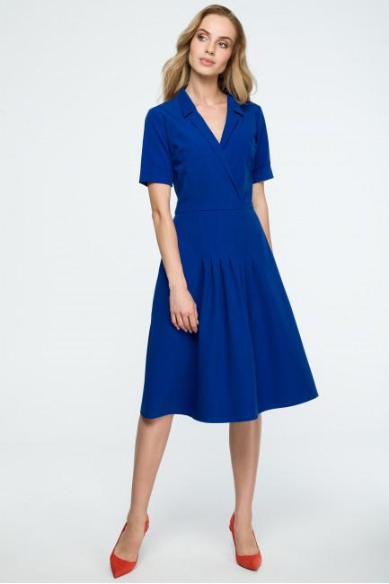 CM3840 Trapezowa sukienka...
