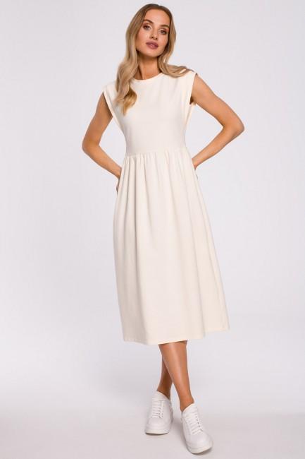 CM5872 Sukienka midi z...