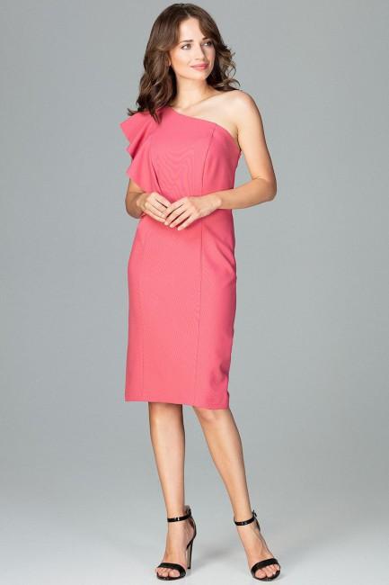 CM3854 Ołówkowa sukienka z...