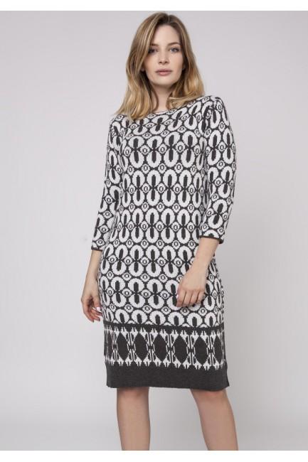 CM3861 Dzianinowa sukienka...