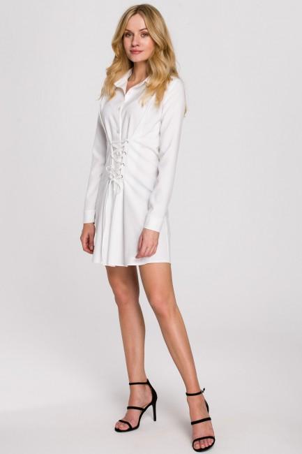 CM5895 Sukienka koszulowa z...