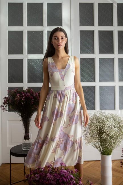 CM5899 Sukienka midi bez...