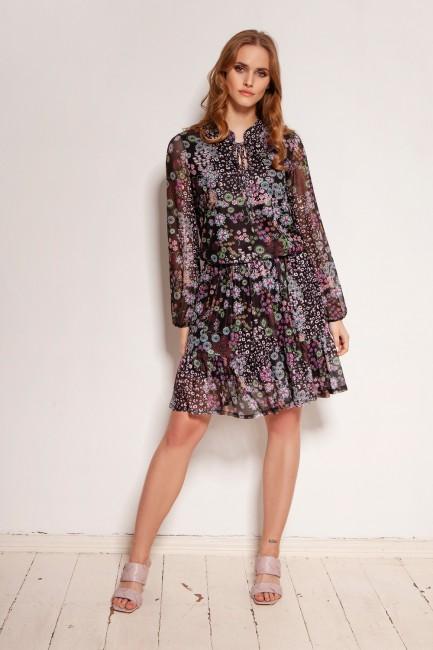 CM5915 Zwiewna sukienka z...