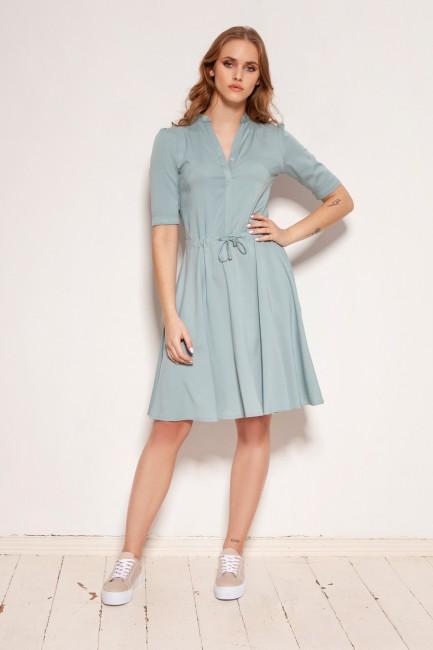 CM5916 Sukienka z troczkiem...