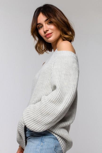 CM5928 Sweter z wycięciami...