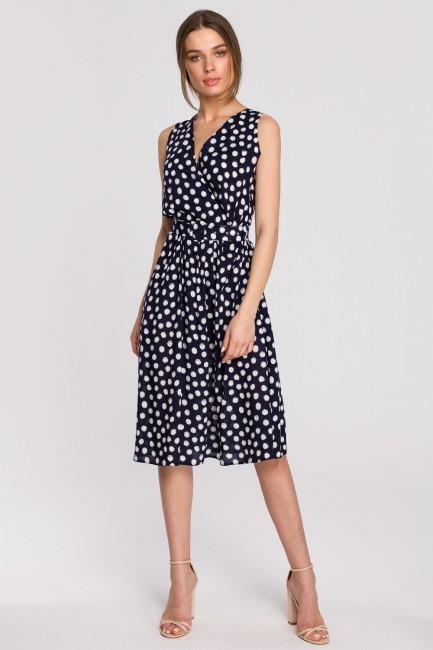 CM5942 Sukienka bez rękawów...