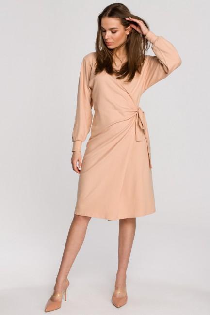 CM5945 Dzianinowa sukienka...