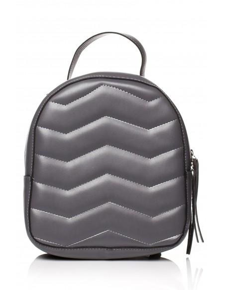 Pikowany plecak - grafitowy