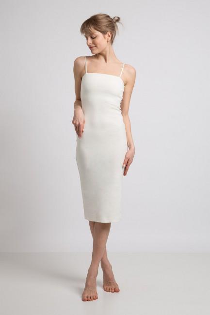 CM5981 Sukienka na cienkich...