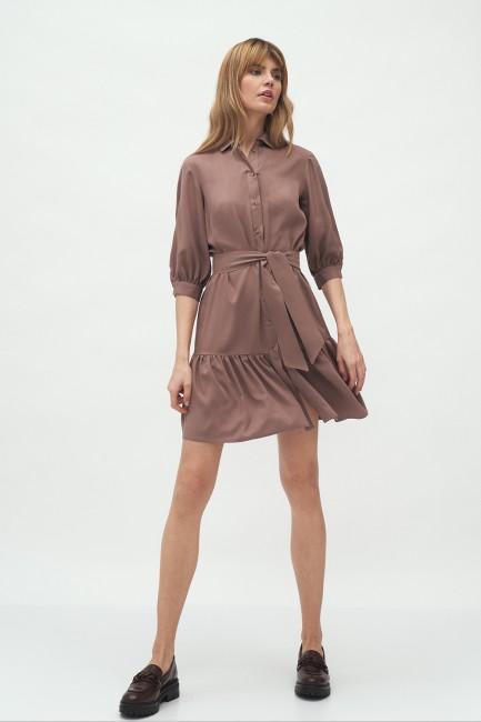 CM5992 Wiskozowa sukienka z...