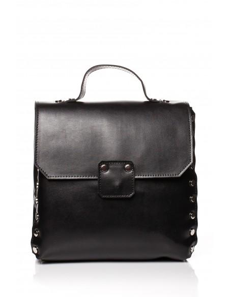 Mała elegancka torebka - czarna