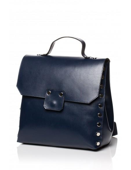 Mała elegancka torebka - granatowa