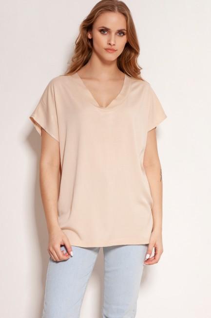 CM5909 - T-shirt w serek -...