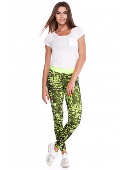 Dopasowane legginsy fitness