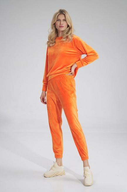 CM6033 Welurowe spodnie...
