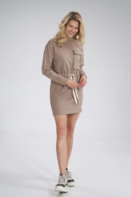 CM6041 Bawełniana sukienka...