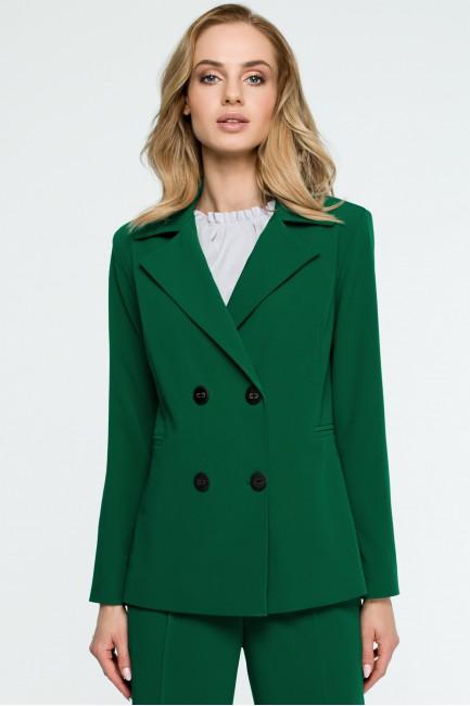 Żakiet dwurzędowy - zielony