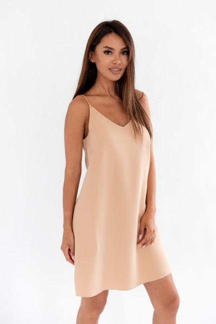 CM6071 Zwiewna sukienka na...