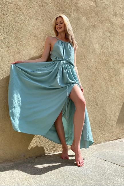 CM6072 Sukienka maxi z...