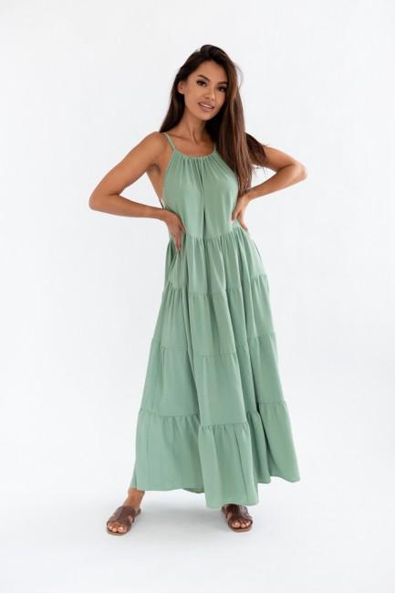 CM6078 Sukienka maxi na...