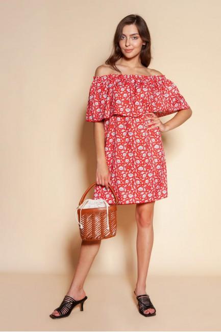 CM6094 Krótka sukienka typu...