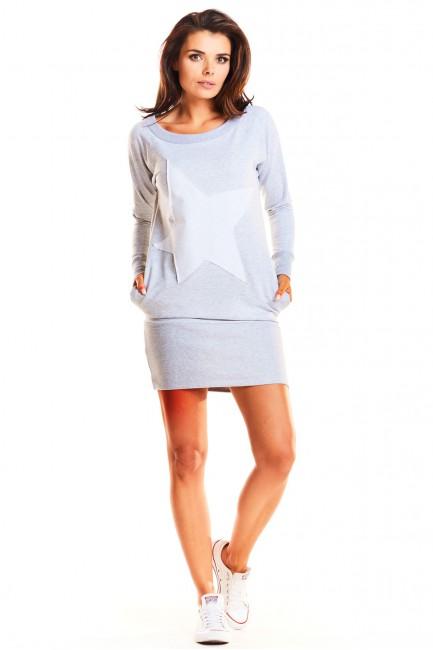 CM3959 Dresowa sukienka...