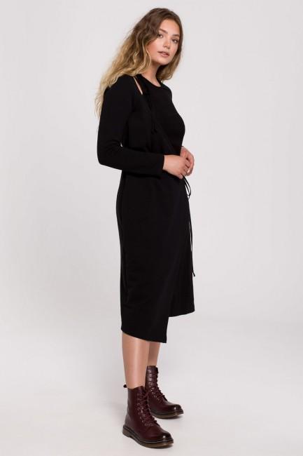 CM6203 Sukienka warstwowa z...