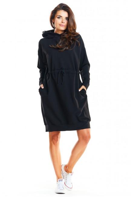 CM3964 Dresowa sukienka z...
