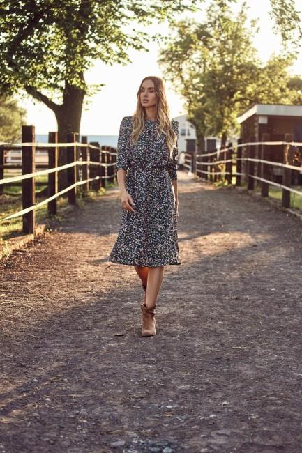 CM6224 Sukienka kwiecista z...