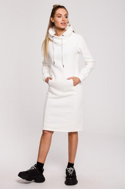 CM6236 Sukienka z wysokim...