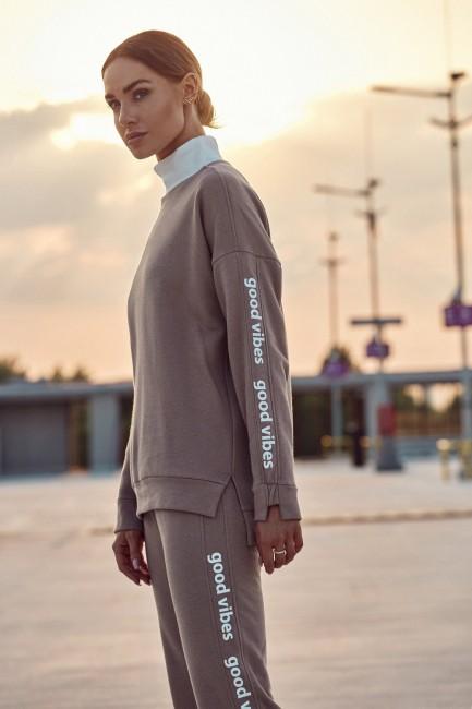 CM6237 Bluza damska z logo...
