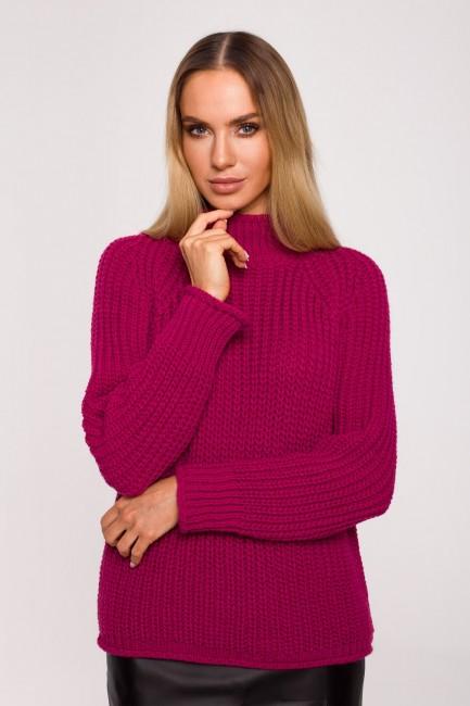 CM6247 Sweter z golfem -...
