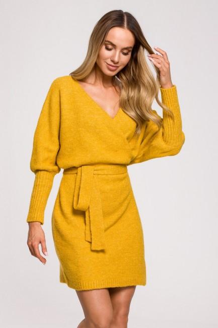 CM6248 Sukienka swetrowa...