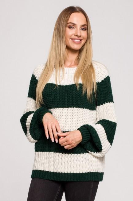 CM6249 Sweter w pasy - model 4