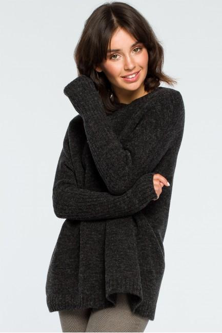CM3996 Gruby sweter ze...