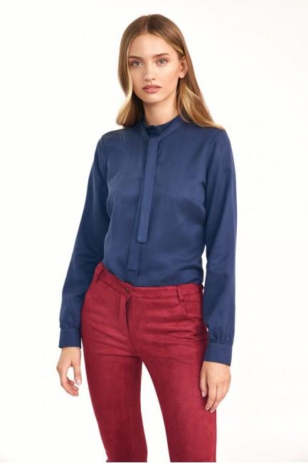 CM6096 Bluzka koszulowa z...