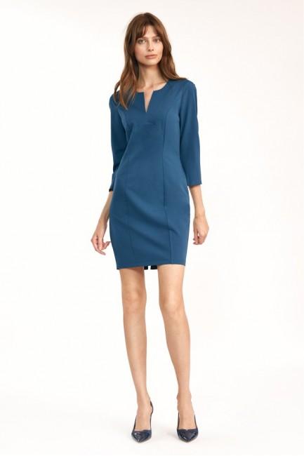 CM6099 Dopasowana sukienka...