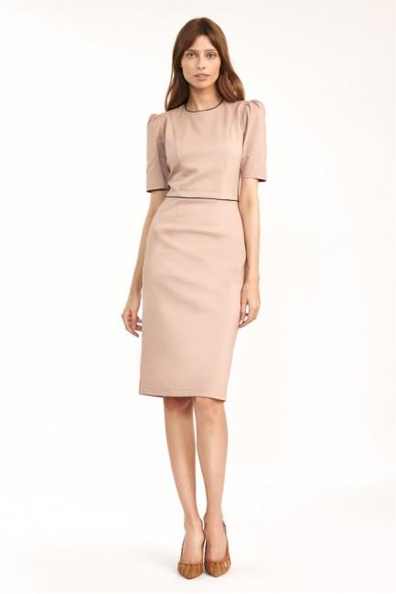 CM6100 Klasyczna sukienka...