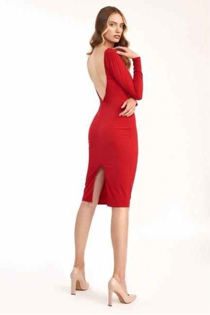CM6103 Sukienka midi z...