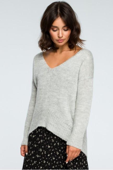CM3999 Asymetryczny sweter...