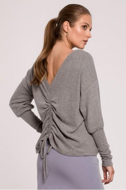 CM6266 Sweter ściągany na...