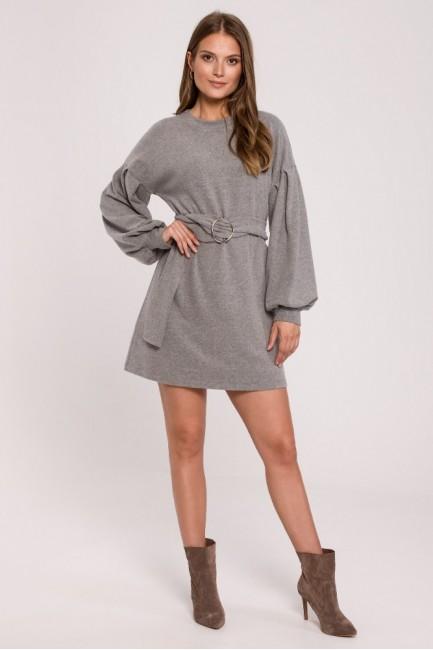 CM6268 Sukienka sweterkowa...