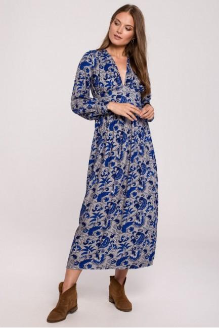 CM6278 Sukienka maxi z...