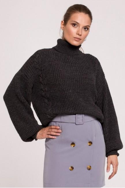 CM6283 Krótki sweter z...