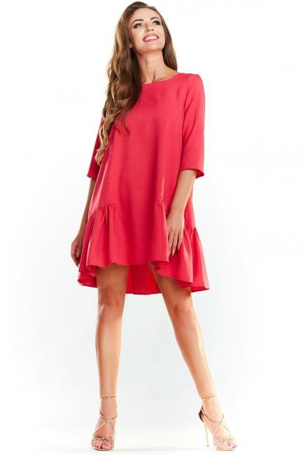 CM3978 Stylowa sukienka z...