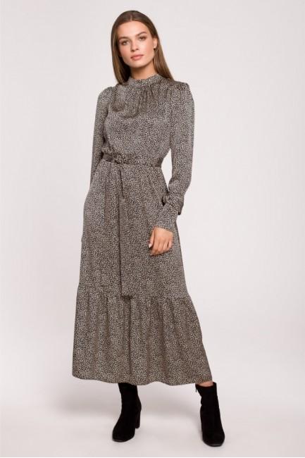 CM6302 Sukienka maxi z...