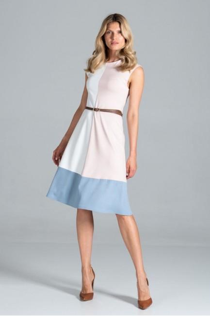 CM6307 Trapezowa sukienka...
